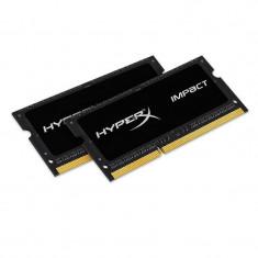 Memorie laptop HyperX Impact Black 16GB DDR3 1866 MHz CL11 Dual Channel Kit - Memorie RAM laptop Kingston