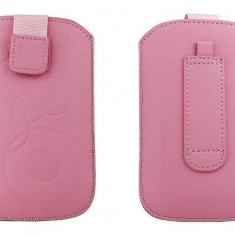 Toc OEM TSAPPIPH4ROZ Slim roz pentru iPhone 4 / Samsung Ace / Nokia E5 - Husa Telefon