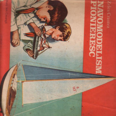 Zelea Crantea - Navomodelism pionieresc - Carte sport