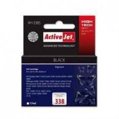 Consumabil ActiveJet Cartus compatibil HP 338 Black 17ml - Cartus imprimanta