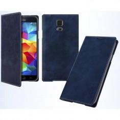 Husa Flip Cover Arium Design 232041-SGS4-NV Mustang Flip Book Battery Cover albastru navy pentru Samsung Galaxy S4 - Husa Telefon
