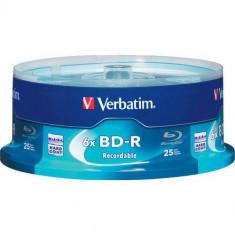 Mediu optic Verbatim BluRay BD-R 25GB 6x 5 bucati Scratchguard Plus