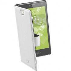 Husa Flip Cover Cellularline BOOKUNI2LW Agenda Book Uni XXL universal Alb - Husa Telefon