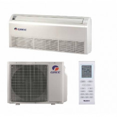 Aparat Aer Conditionat tip Podea Tavan Gree GTH24K3FI-GUHD24NK3FO Inverter 24000 BTU Timer A+ Alb, A+, Standard