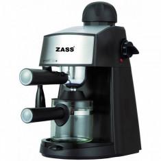 Espressor manual Zass ZEM 06 800W negru, 3.5 bar