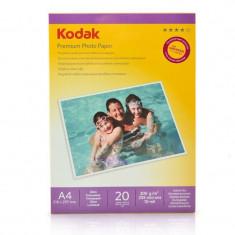 Hartie foto Kodak 20 coli High Glossy A4 200g - Hartie foto imprimanta