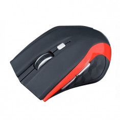 Mouse Modecom MC-WM5 Wireless Rosu, Optica