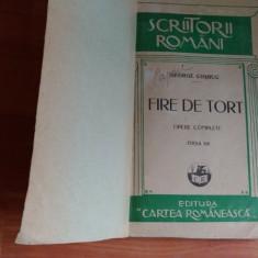 FIRE DE TORT-OPERE COMPLETE-GEORGE COSBUC - Carte poezie
