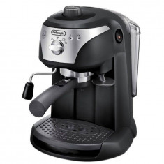 Espressor cafea Delonghi EC221B 1100W 1 Litru 15 Bari Negru, Manual