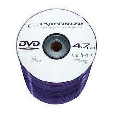 Mediu optic Esperanza DVD+RW 4.7GB 4x spindle 100 bucati