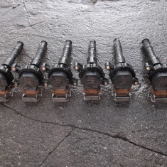 Bobine inductie BMW E39 ( Seria 5 ) motor 2000 benzina in stare foarte buna. - Dezmembrari BMW