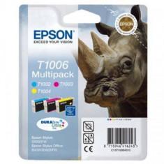 Consumabil Epson Cartus T1006 Multipack CMY - Cartus imprimanta