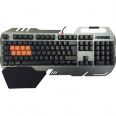 Tastatura gaming A4Tech BLOODY B418 Black, USB, Cu fir
