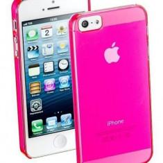 Husa Protectie Spate Cellularline COOLIPHONE5P Cool Pink pentru Apple iPhone 5S / SE - Husa Telefon CellularLine, iPhone 5/5S/SE