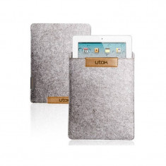 Husa tableta Utok microfibra 7-8 inch 7110G Grey
