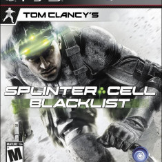 Joc consola Ubisoft Tom Clancys Splinter Cell Blacklist - Jocuri PS3 Ubisoft, Shooting, 18+
