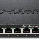 Switch D-Link 8 porturi Fast Ethernet