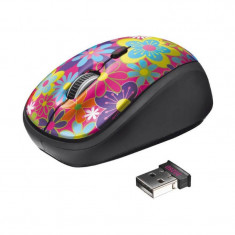 Mouse Trust Optical Wireless Yvi 20250 Flower Power, Optica