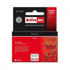 Consumabil ActiveJet Cartus compatibil PG-510 black Canon - Cartus imprimanta