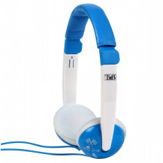 Casti TnB Kids Sound Blue, Casti On Ear, Cu fir, Mufa 3, 5mm