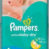 Scutece PAMPERS Active Baby 4 Maxi Jumbo Pack 70 buc - Scutece unica folosinta copii