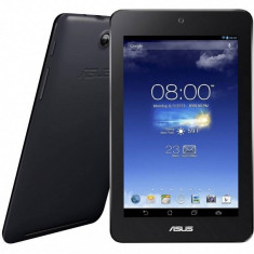 Tableta Asus MeMo Pad HD 7 ME173X 7 inch IPS MultiTouch Cortex A7 1.2 GHz Quad Core 1GB RAM 16GB Flash GPS Android 4.2 Black, 10.1 inch, Wi-Fi