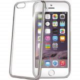 Husa Protectie Spate Celly Laser Argintiu APPLE iPhone 6, iPhone 6S - Husa Telefon