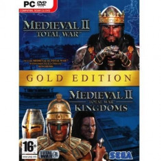Joc PC Sega Medieval II: Total War Gold Edition - Jocuri PC Sega, Strategie, 12+, Multiplayer
