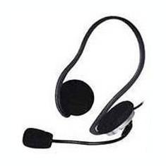 Casti A4Tech Over-Ear HS-5P Black, Casti On Ear, Cu fir, Mufa 3, 5mm