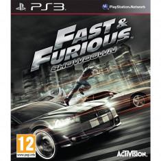 Joc consola Activision Fast and Furious Showdown PS3 - Jocuri PS3 Activision, Curse auto-moto, 12+
