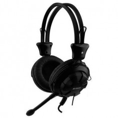 Casti A4Tech Over-Head HS-28-1 Black - Casca PC