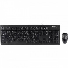 Kit tastatura si mouse A4Tech KRS-8372 PS2 black