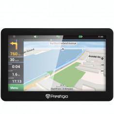 Sistem de navigatie Prestigio GeoVision 5056 5.0 harta Full Europe + Update gratuit al hartilor