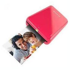 Imprimanta foto Polaroid Mobila Zip Fotografii Instant Rosie si Hartie Foto