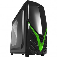 Carcasa Raidmax Viper II Black / Green - Carcasa PC