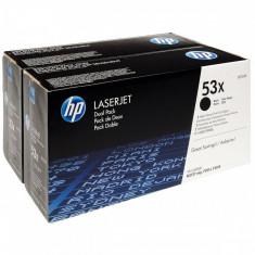 Set tonere HP Q7553XD Black