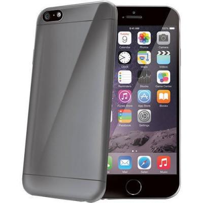 Husa Protectie Spate Celly Ultrasubtire Gri pentru Apple iPhone 6 Plus, iPhone 6s Plus foto