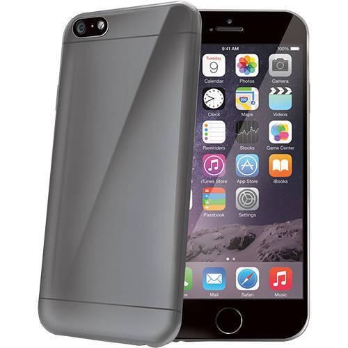 Husa Protectie Spate Celly Ultrasubtire Gri pentru Apple iPhone 6 Plus, iPhone 6s Plus foto mare