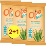 OPS servetele Fresh calatorie aloe 15buc 2+1 gratis