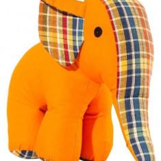 Jucarie textila U-GROW UG-AF09 Elephant 22 x 18 cm - Jucarie pentru patut
