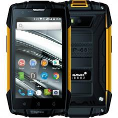 Smartphone myPhone Hammer Iron 2 8GB Dual Sim 4G Orange - Telefon MyPhone