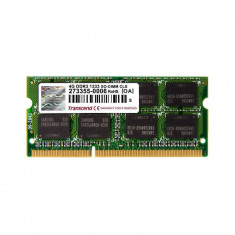 Memorie laptop Transcend 4GB DDR3 1333MHz CL9 pentru Apple - Memorie RAM laptop