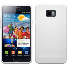 Husa Protectie Spate Blautel FSIGB2 4-OK alb pentru Samsung Galaxy S2 GT I9100p