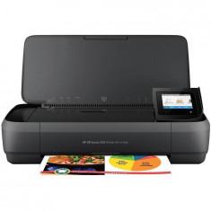 Multifunctionala HP OfficeJet 252 Mobile All-in-One Printer A4 InkJet Color USB Wireless Negru
