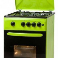 Aragaz LDK 5060 A GREEN NG gaz 4 arzatoare Verde