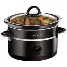 Multicooker Crock-Pot Slow cooker 2.4L Vas Ceramica 180W Negru