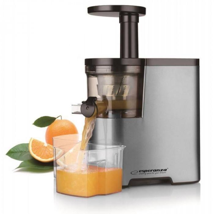 Storcator de fructe cu melc Esperanza EKJ003 Mandarina 150W 0.5l gri foto mare