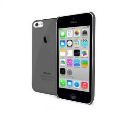 Husa Protectie Spate Celly CRYSTAL360B Crystal neagra pentru Apple iPhone 5C - Husa Telefon