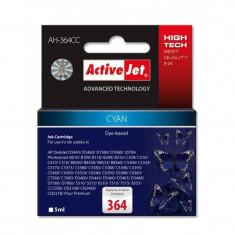 Consumabil ActiveJet Cartus HP-364 cyan compatibil HP CB318EE - Cartus imprimanta