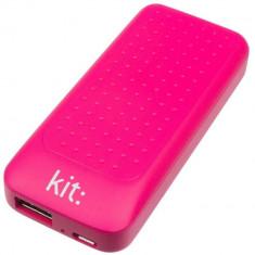 Acumulator extern Kit Essential 4000 mAh pink - Baterie externa